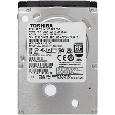 competitive price b2b79 c09fb HP 500GB 7200RPM SATA RAW 2.5  7MM HDD ...