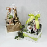 Cello Basket Bags - Clear