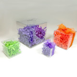 Clear Boxes - 1 piece folding