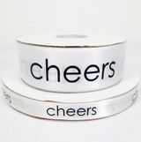 Cheers Ribbon - EP Collection - White