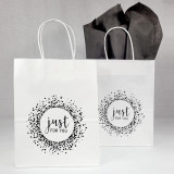 Just For You Paper Shoppers - EP Collection  - White