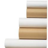 Paper Rolls - Kraft and White