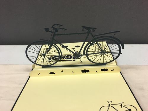 Handmade 3D Kirigami Card  Boys Bike Styles may vary