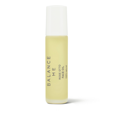 Balance Me Rose Otto Face Oil 10ml on a white background