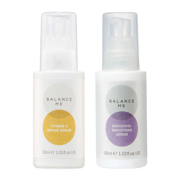 Balance Me Day + Night bundle (2 products) on a white background