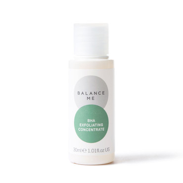 Balance Me BHA Exfoliating Concentrate 30ml on a white background