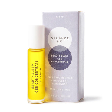 Balance Me Beauty Sleep CBD Concentrate 10ml on a white background