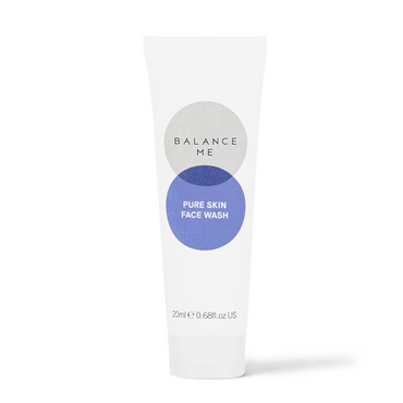 Balance Me Pure Skin Face Wash 20ml on a white background