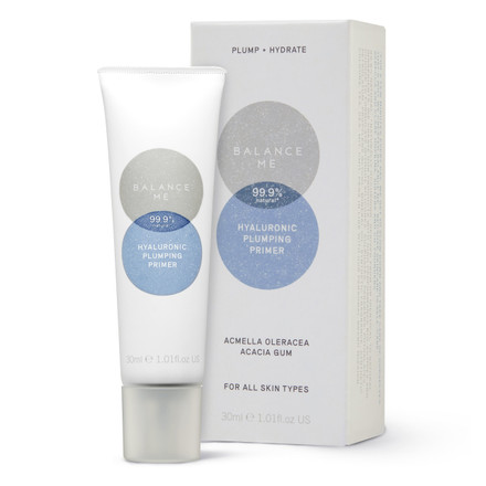 Balance Me Hyaluronic Plumping Primer 30ml on a white background