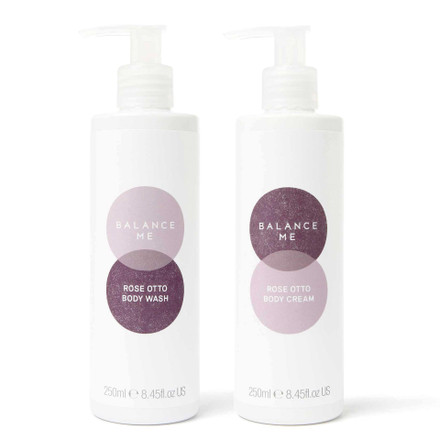Balance Me Relax + Soothe bundle (2 products) on a white background