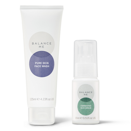 Balance Me Soothe + Clear bundle (2 products) on a white background