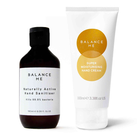 Balance Me Clean + Protect bundle (2 products) on a white background