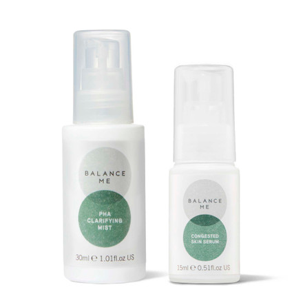 Balance Me Balance + Clear bundle (2 products) on a white background
