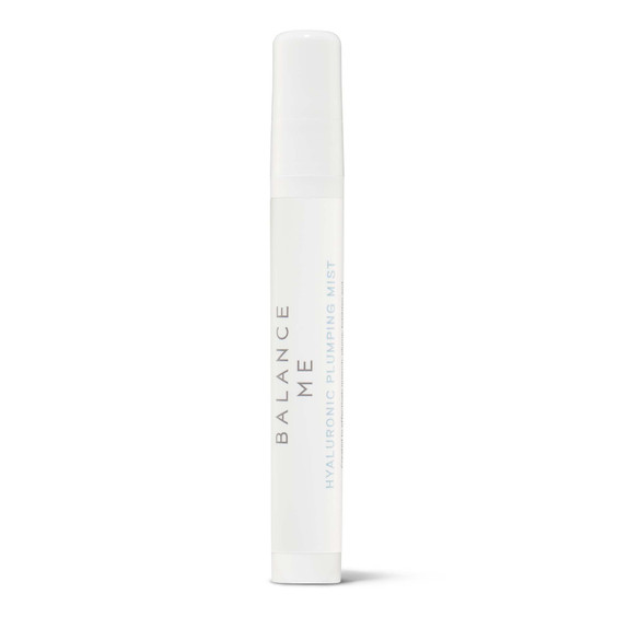 Balance Me Hyaluronic Plumping Mist 10ml on a white background