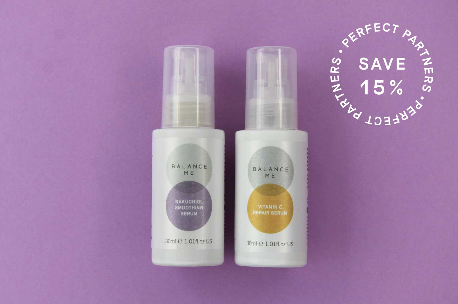 Partner up and save 15% when you buy our Day + Night kit