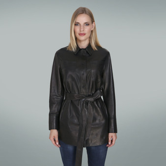Women's Black Longer jacket