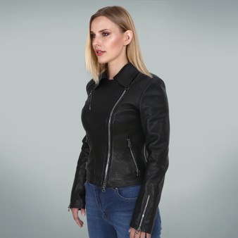 Women's Black Buta Jacket