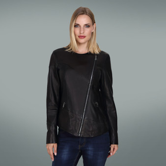 Women's Black Sew Jacket