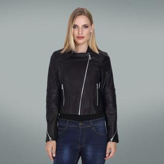 Women's Black Elbow sew jacket