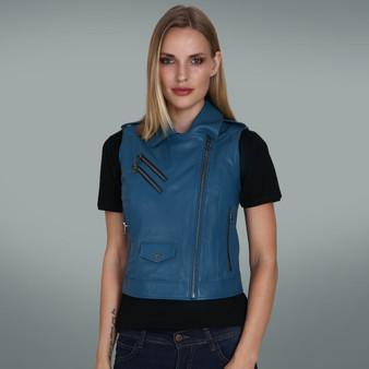 Women's Blue Vest