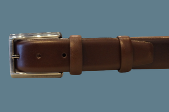 Men's Brown Classic Belt