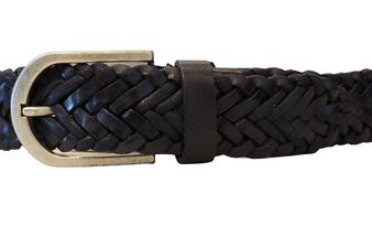 Woven Dark Blue Belt