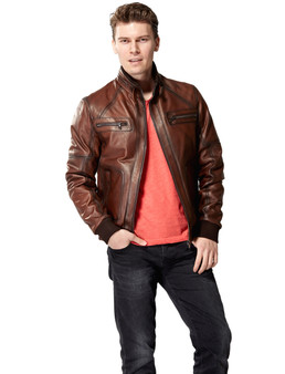 Men's Soft Brown Jacket Ho