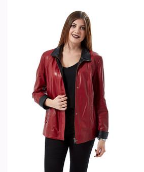 Women's midi Red Jacket Ho