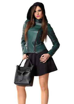 Women's Emerald Green Jacket Ho