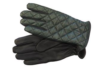 Men's Green Leather Gloves