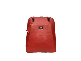 603 Women's Red Leather Bag