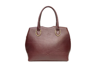 584 Women's Burgundy Leather Bag