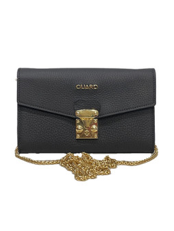 2258 Black Bag with Chain strap