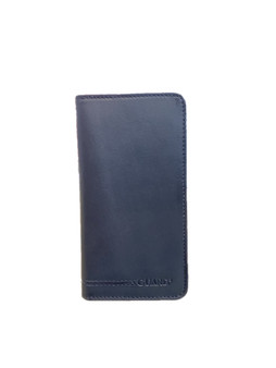 1419 Black Leather wallet & phonecase