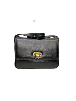 563 Black Leather Bag