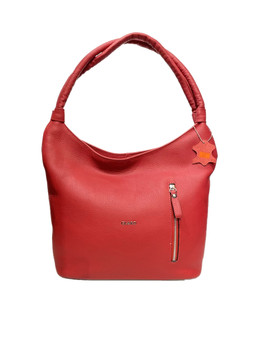 595 Red Leather Bag