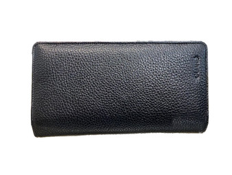 3046 Black Leather Handbag & wallet