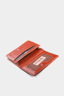 131 Brown Leather Cardholder