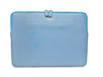 1806 Light Blue Leather Tablet case