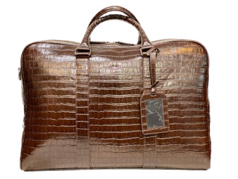 1814 Brown Leather Travel bag