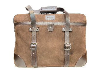 1932 Suede Leather Travel bag