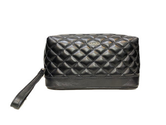 1964 Black Leather Washbag