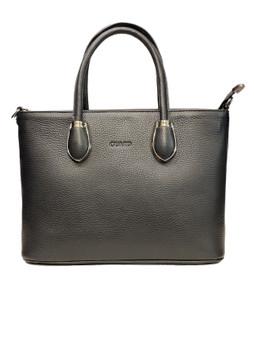 566 J Black Leather bag