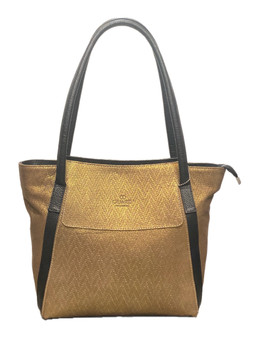 594 Women's Golden Leather Bag