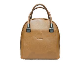 606 Tan Leather Bag