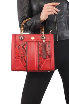 009 Handbag Wooden Handle
