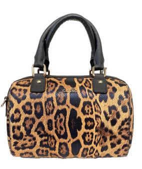 10015 Leopard Print Handbag