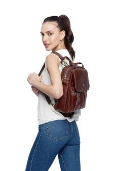 902 Leather handbag / backpack / shoulder bag