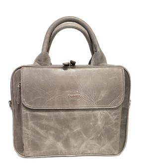 1714  Leather Business Bag Midi