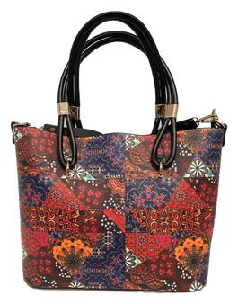 10020  Faux Leather Handbags